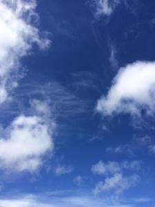 Sky in Aberdeen